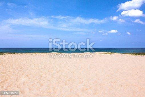 istock sand of beach Karon Beach South of Thailand 665393752