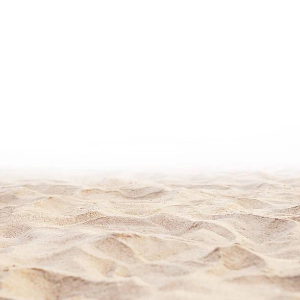 Sable sur fond blanc - Photo