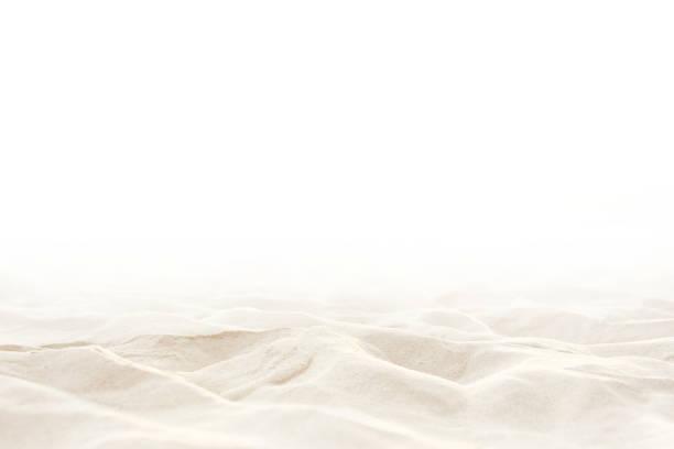 beyaz arka plan üzerinde kum - tasarım öğesi stok fotoğraflar ve resimler