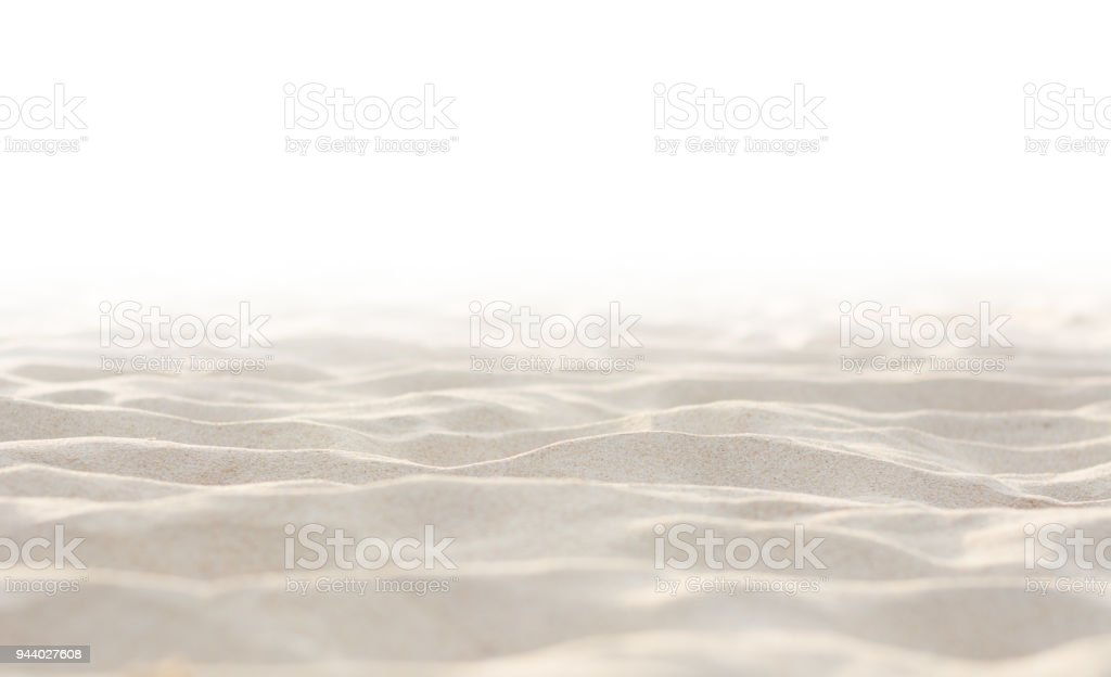 Sand on white background royalty-free stock photo