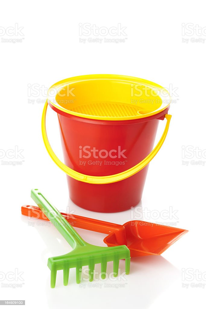 Sand Pail and Shovel royalty-free stock photo