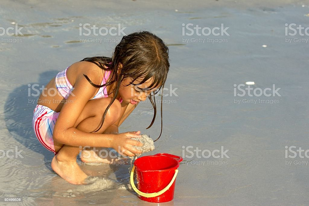 Sand Pail royalty-free stock photo