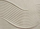 istock Sand pattern 1186779740