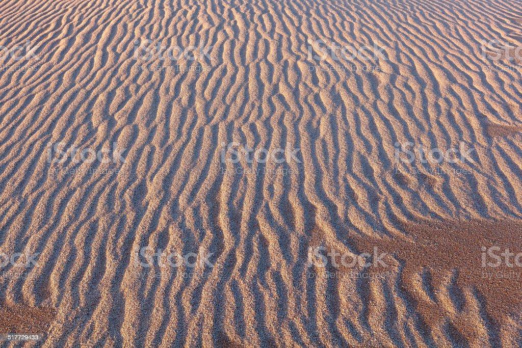 sand patterns stock photo