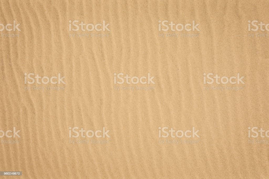 Sand Looking down on a clean sand Absence Stock Photo
