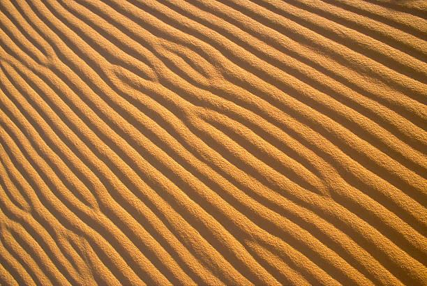 Sand Ripple Patterns stock photo