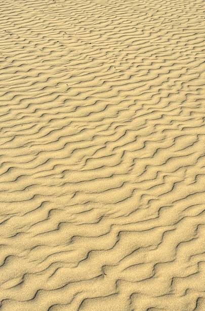 Sand Ripples Background stock photo