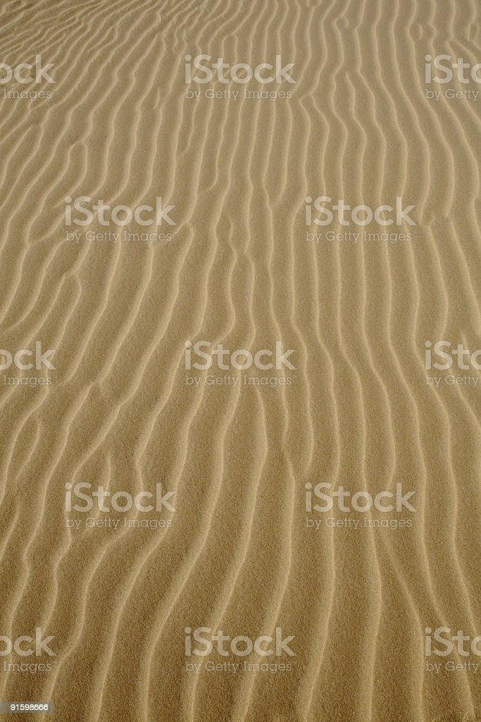 Sand Ripples Background royalty-free stock photo