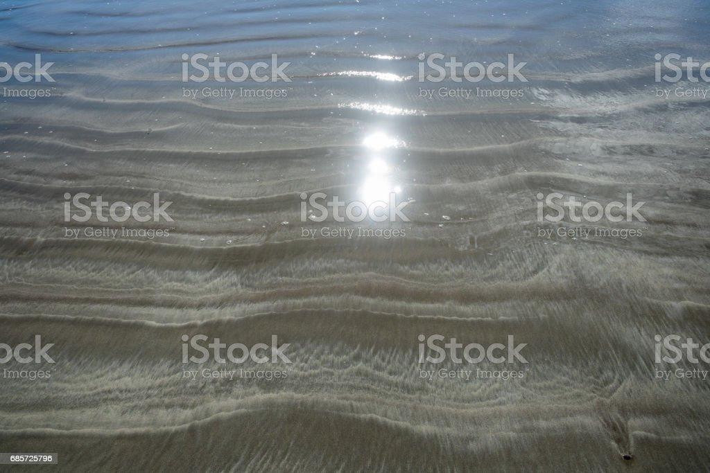 Sand ripples ロイヤリティフリーストックフォト
