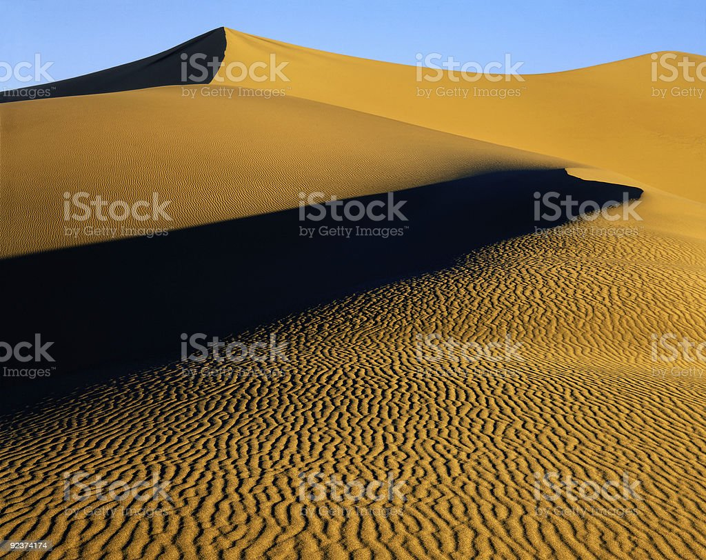 Sand Ripples royalty-free stock photo