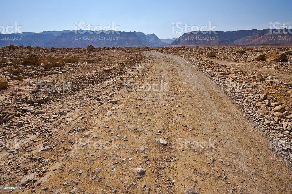 Sand Road stock photo