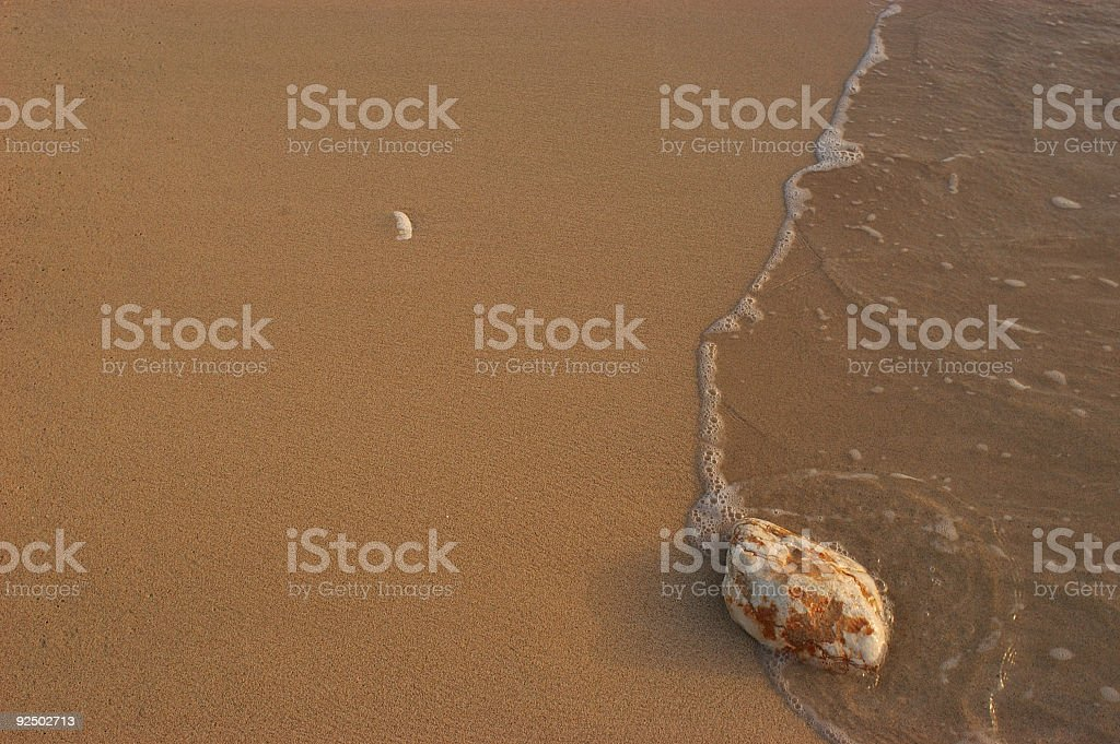Sand, Stone, & Surf royalty-free stock photo