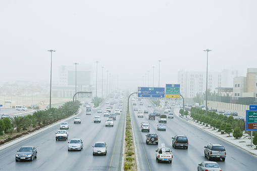 Sand Storm in Riyadh