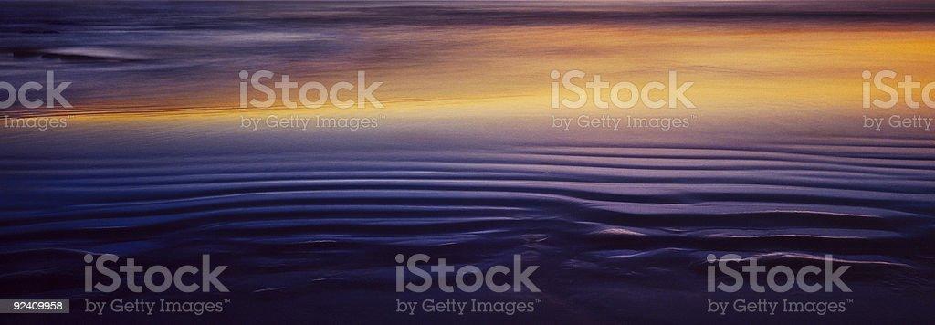 Sand Sunset royalty-free stock photo
