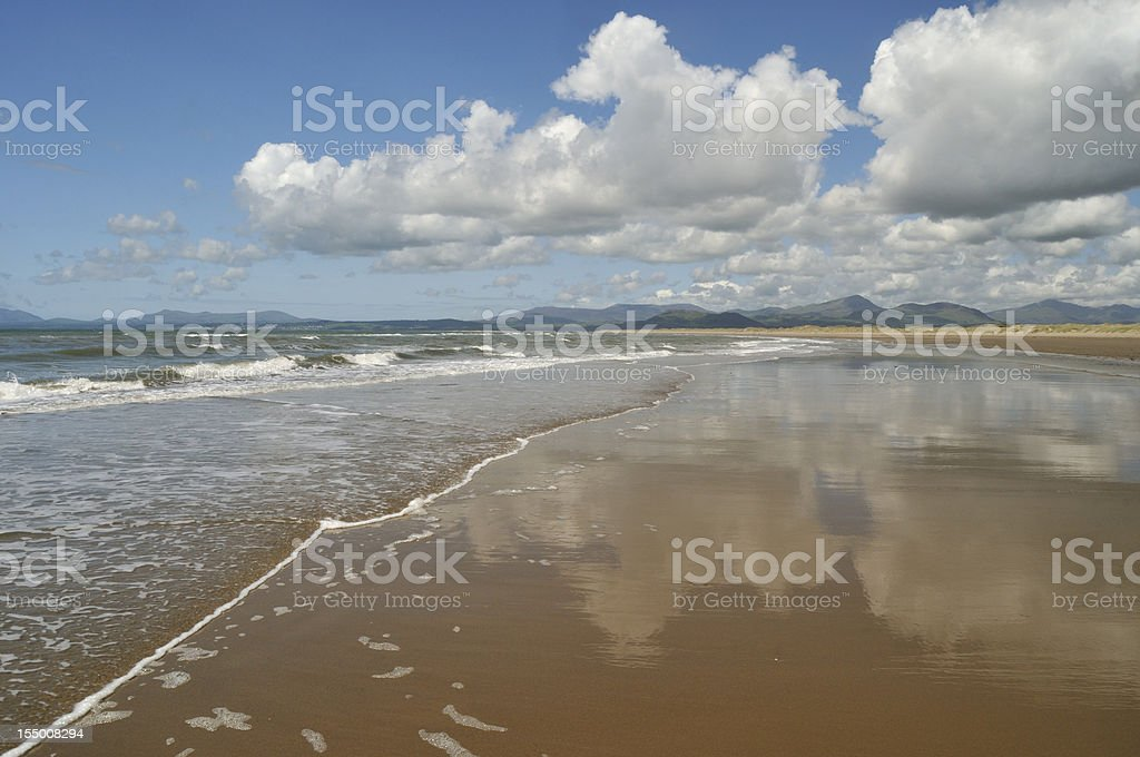 Sand, Surf and Sky stock photo