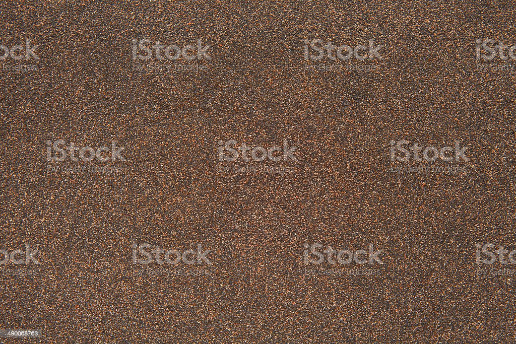 sand texture of rubberoid, asphalt macro background stock photo