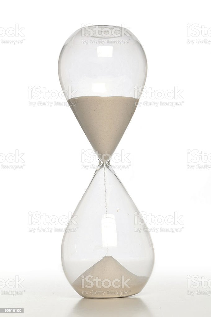Sand Timer close up royalty-free stock photo