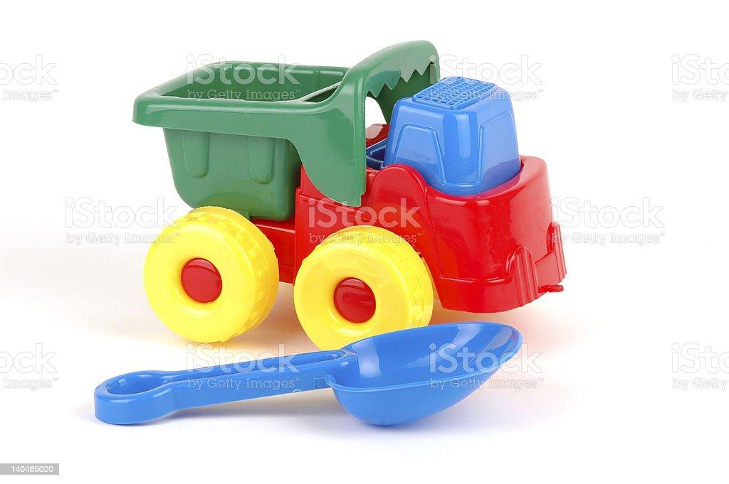Sand Toys royalty-free stock photo
