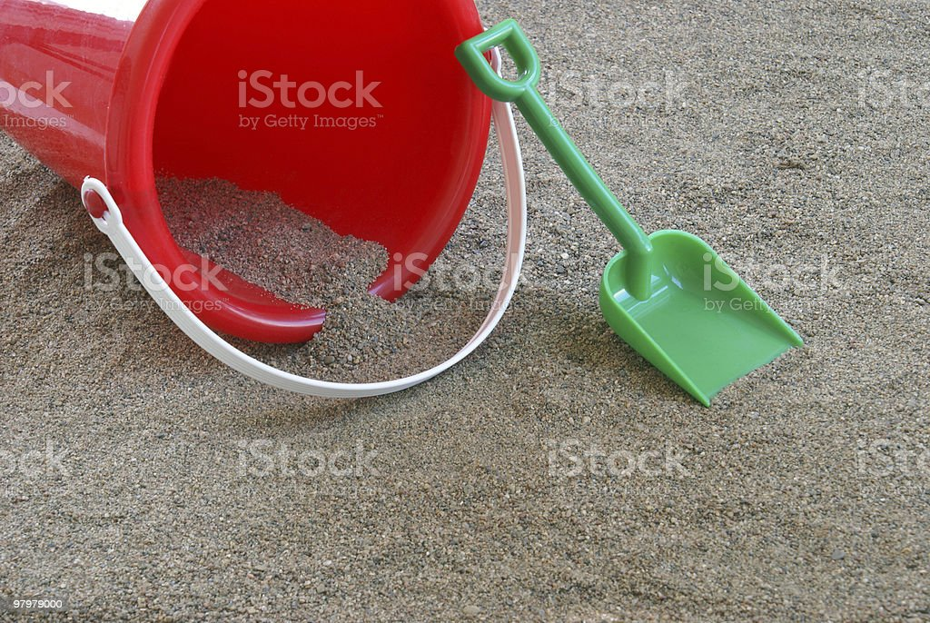 Sand Toys royalty-free stock photo
