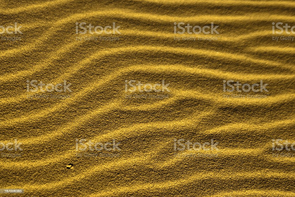 Sand Trails royalty-free stock photo