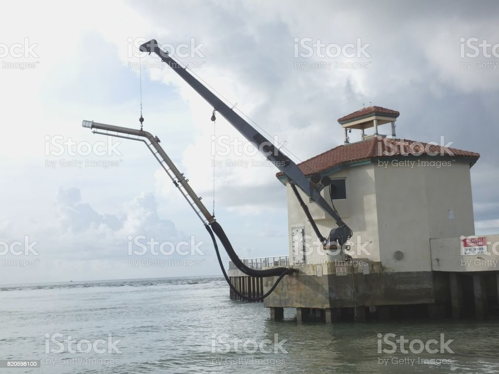 Sand Transfer Pump Stock Photo - Download Image Now
