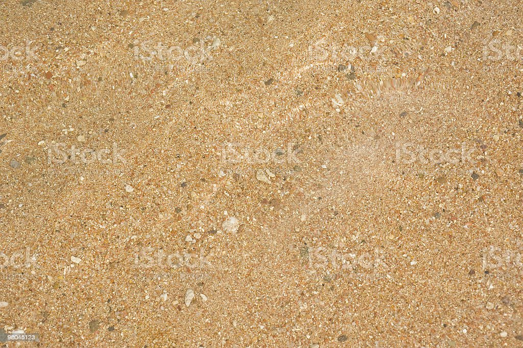 Sand underwater in shallow lagoon royalty-free stock photo