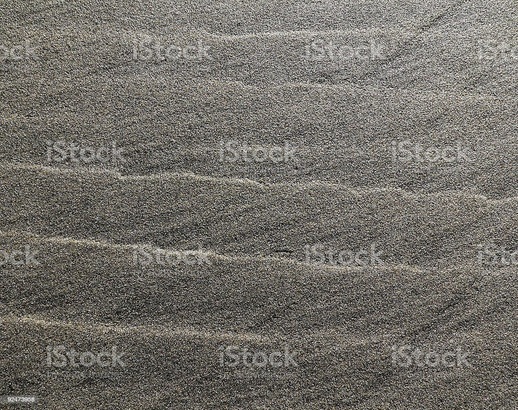 Sand Waves royalty-free stock photo