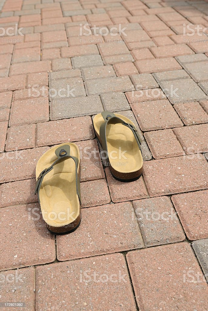 Sandals - 2 royalty-free stock photo