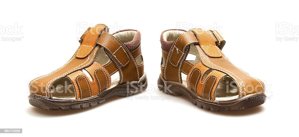 Di sandals foto stock royalty-free