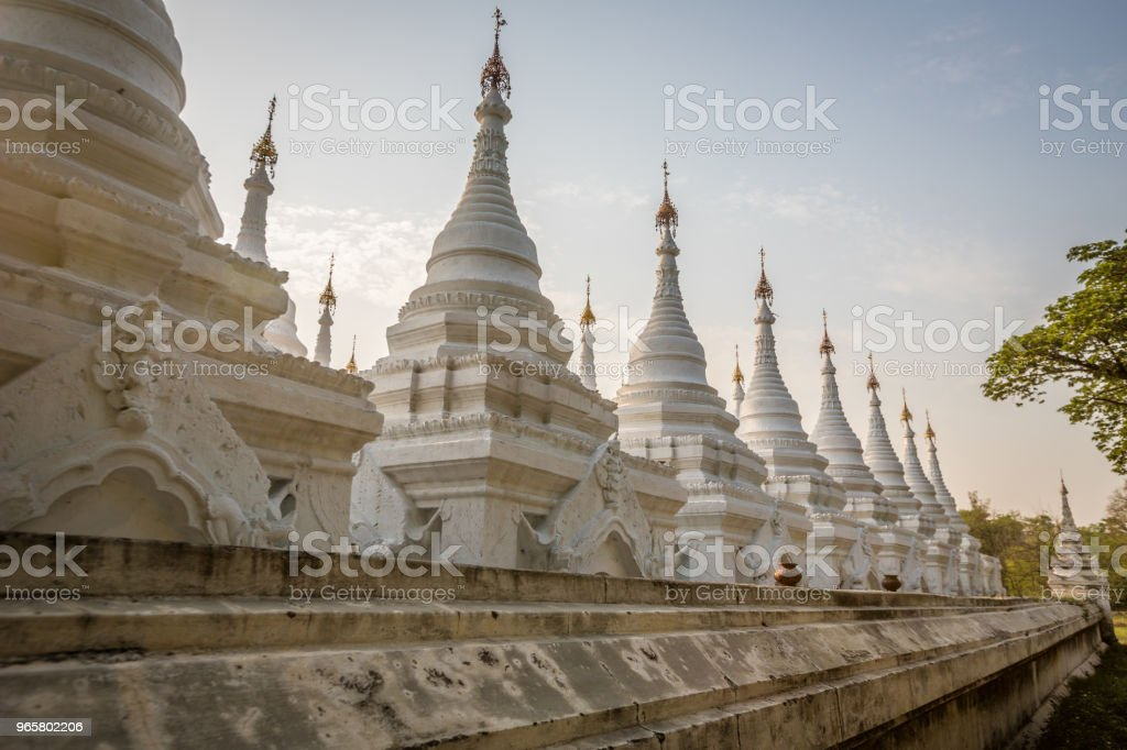 Sandamuni Pagoda Mandalay - Royalty-free Architecture Stock Photo