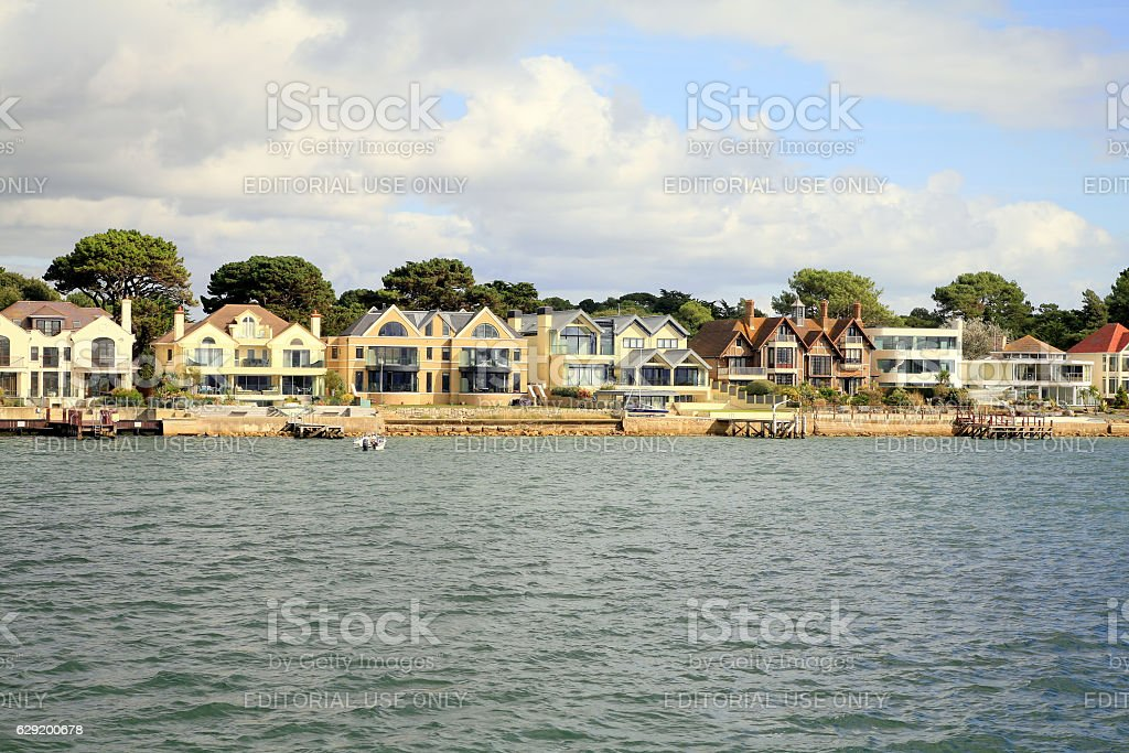 Sandbanks, Dorset. stock photo