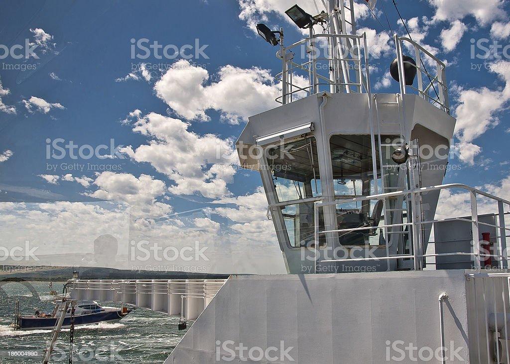 Sandbanks Ferry royalty-free stock photo