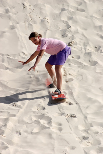Sandboard fun in Joaquina Beach - Florianopolis - BrazilSee more from this model...