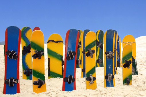 Sandboard accident.See my beach images serie by clicking on the link below: