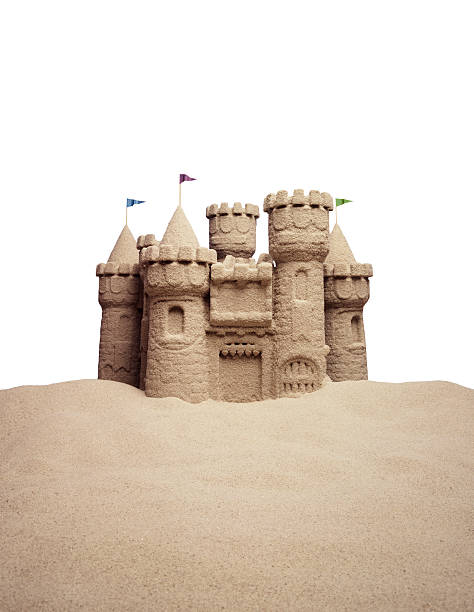 château de sable - chateau de sable photos et images de collection
