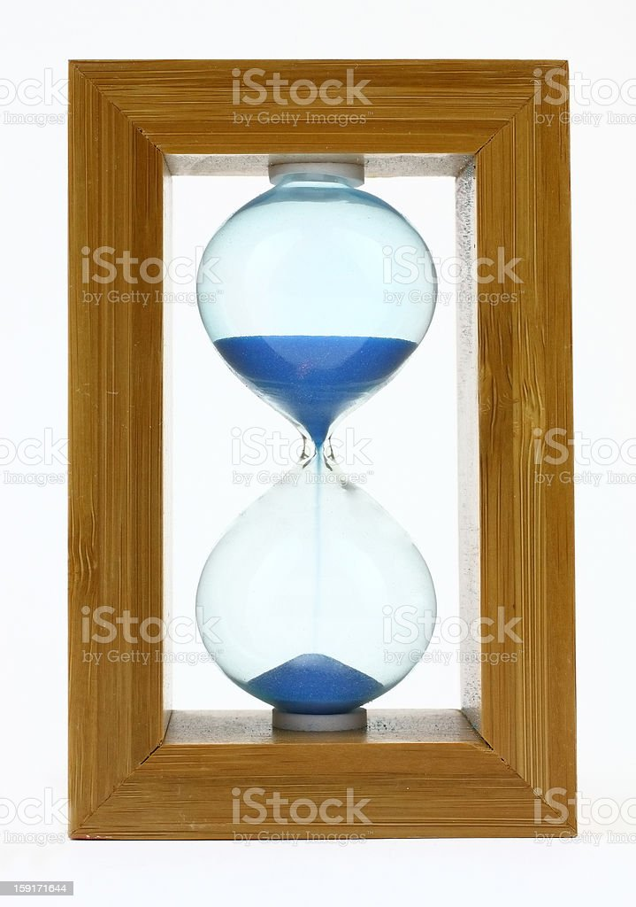 Sandclock royalty-free stock photo