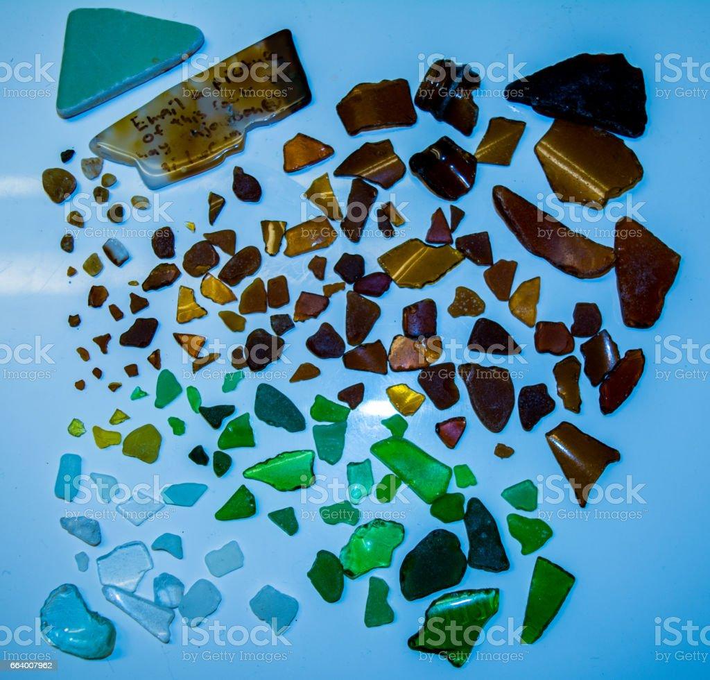 Sand-Glass Mosaic stock photo