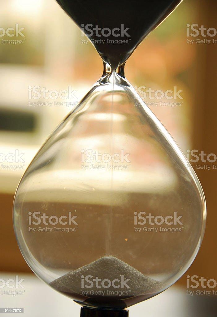 Sandglass stock photo