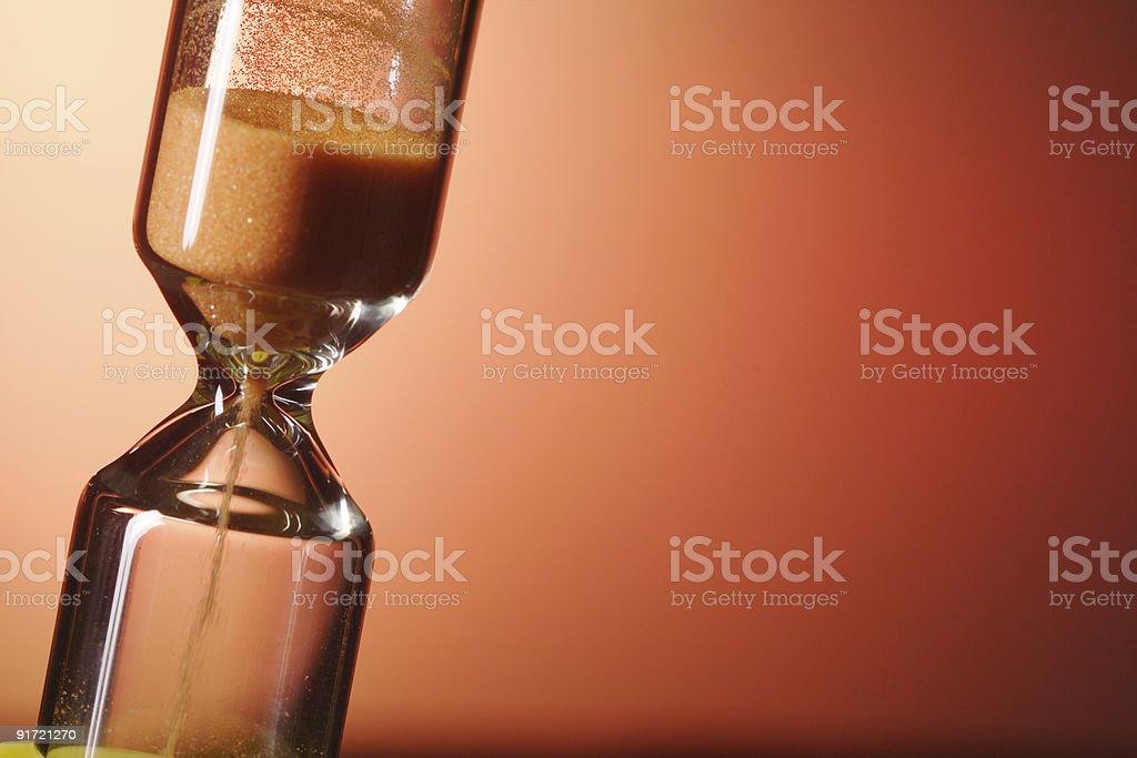 sand Glas - Lizenzfrei Abwarten Stock-Foto