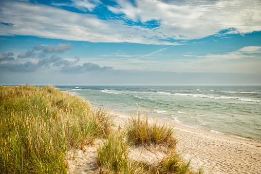 Sandhammaren beach in Skane Sweden
