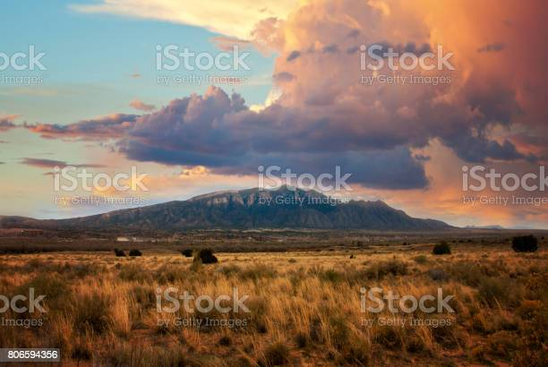 Photo of Sandia Mountains at Sunset