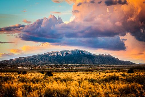 Sandia Mountains in Albuquerque New Mexico