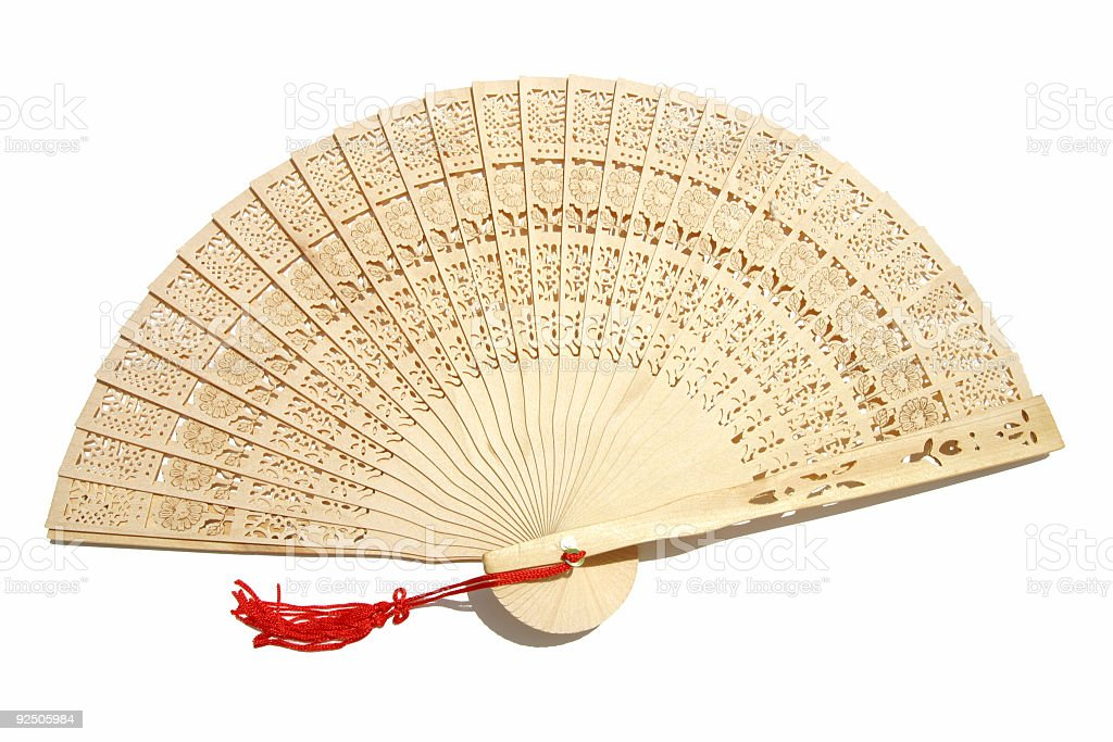Sandlewood Fan royalty-free stock photo