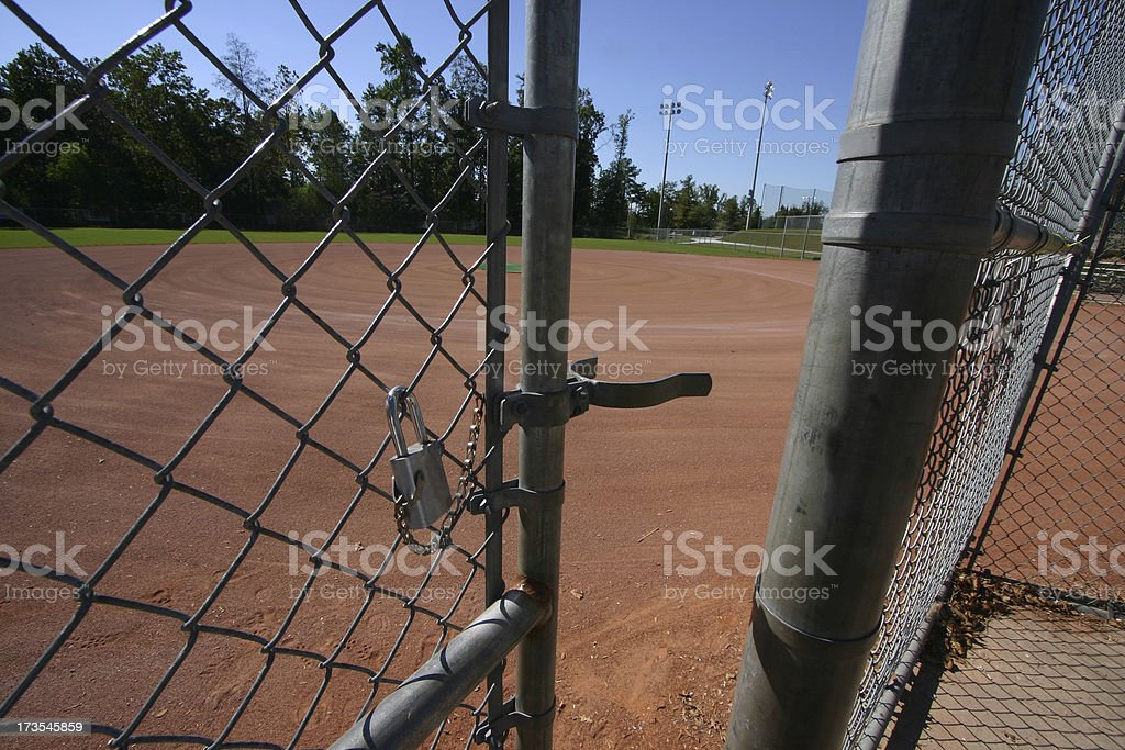 Sandlot royalty-free stock photo