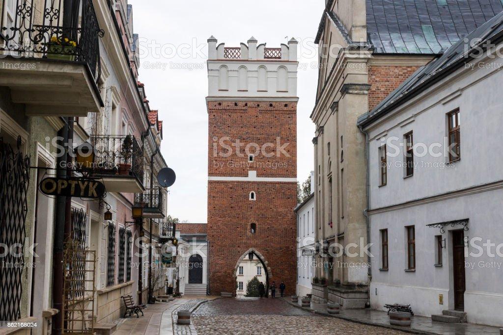 Sandomierz, Poland stock photo
