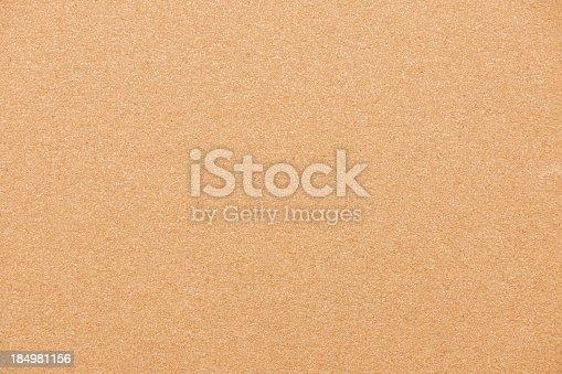 Sandpaper surface texture