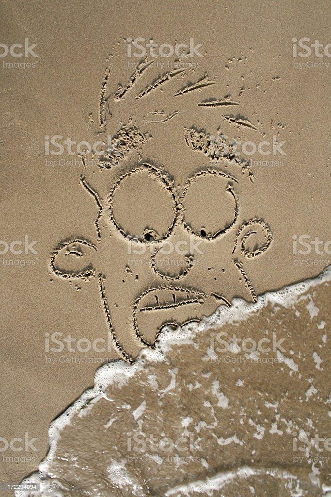 Sands of Terror stock photo