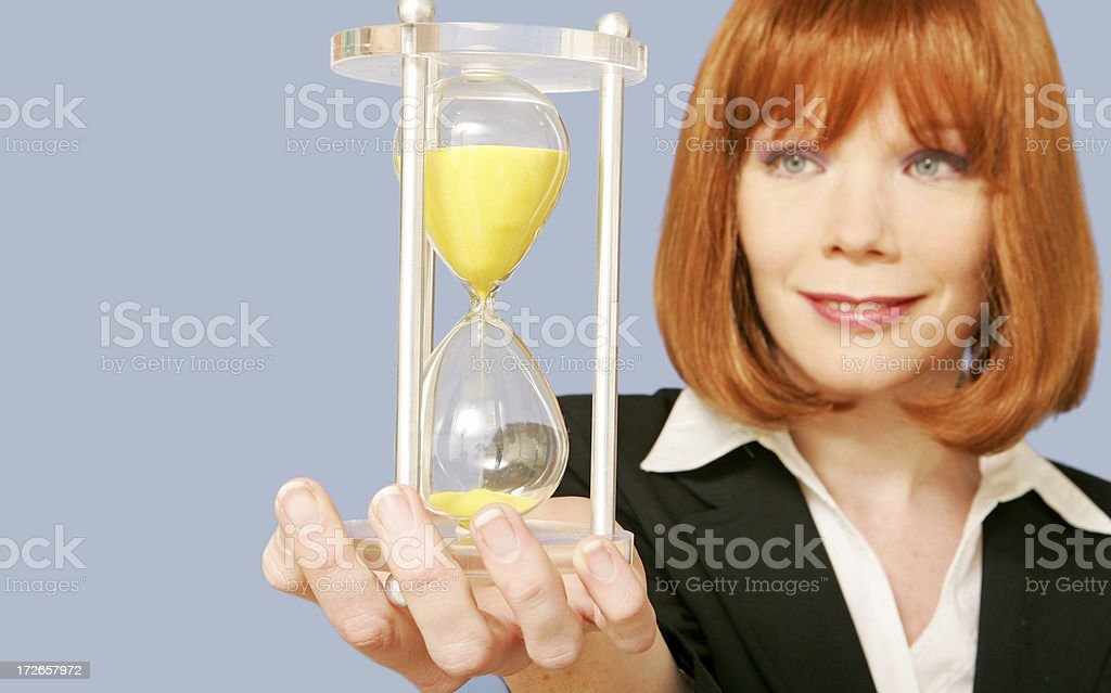 Sands of time royalty-free stock photo