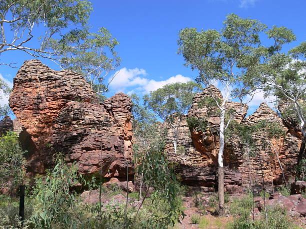 Sandsteinformation im Caranbirini Conservation Reserve im Northern Territory, Australien stock photo