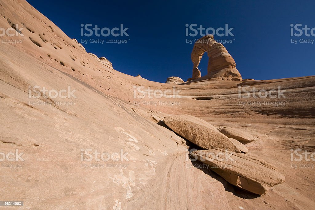 Sandstone Arch royalty-free stock photo